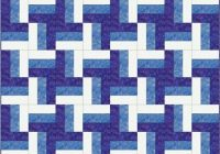 rail fence quilt pattern designs easy beginner quilt Elegant Railroad Quilt Block Pattern