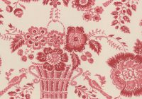 red floral on blanche le bouquet fracais french general for moda french general Modern French General Quilt Pattern Gallery