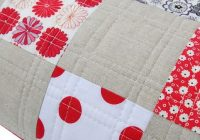 red pepper quilts a classic patchwork quilti love the Cozy Easy Hand Quilting Patterns
