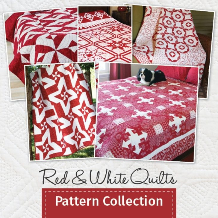 Permalink to Cool Red And White Quilt Patterns