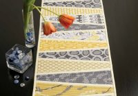 reflected wedges table runner quilt pattern download Modern Table Runner Quilt Pattern Gallery