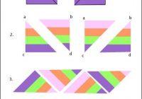 ribbon quilt border a quick tutorial quilting ribbon Unique Ribbon Border Quilt Pattern Inspirations