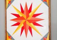 rising sun barn quilt wood custom handmade 3 x 3 Unique Rising Sun Quilt Pattern Gallery