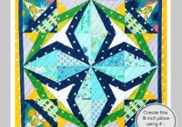 rockstar 228 18 inch quilt block paper piecing quilt pattern pdf mix and match 6 block patterns for 18 in and 36 inch designs medallion Stylish 18 Inch Quilt Block Patterns Gallery