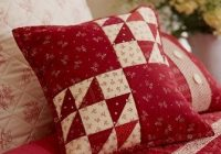romance in red sewing pillows handmade pillows pillows Elegant Quilt Patterns For Pillows Gallery