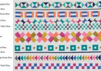 row row quilt patterns moda designers faboo fabric Row By Row Quilt Patterns Inspirations