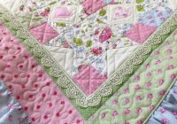 ruffle ba quilt pattern lace quilt pattern ba blanket Interesting Vintage Baby Quilt Patterns Inspirations