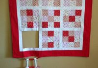 runaway quilt block hang in therehumorous quilted wall Stylish Wall Hanging Quilt Patterns Inspirations