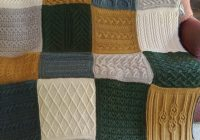 sampler knitting patterns for afghans accessories and more New Knitted Quilt Block Patterns Inspirations