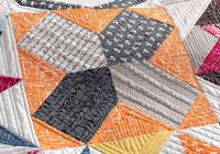 sampler quilt from vintage quilt revival freshly pieced Modern Vintage Quilt Revival