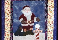 santa quilt pattern Santa Claus Quilt Patterns