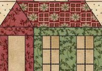 schoolhouse quilt block from the abs schoolhouse Unique Pretty Houses Quilt Book Inspirations
