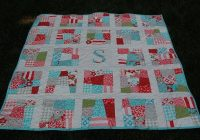 scrappy initial patchwork quilt pattern pdf ba quilt lap quilt fat quarters personalized quilt pdf Interesting Baby Patchwork Quilt Pattern Gallery