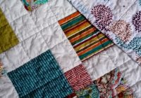 scrappy nine patch rematch quilt tutorial a half square Modern Scrappy Disappearing 9 Patch Quilt
