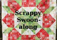scrappy swoon hopeful homemaker Stylish Patchwork Swoon Quilt Pattern