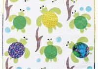 sea turtle friends applique quilt pattern Modern Simple Applique Quilt Patterns Inspirations