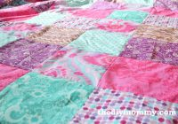 sew a patchwork duvet cover the diy mommy Interesting Patchwork Quilt Duvet Cover Pattern Gallery