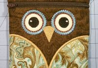 sew easy in the hoop owl purse tutorial quilt sew easy hoop Quilt Sew Easy Hoop Gallery