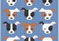sew fresh quilts dog gone cute blocks 7 8 so so sew Cool Sew Fresh Quilts Dog Gone Cute Gallery