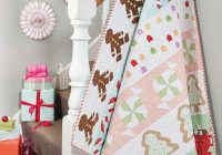 sew the ultimate christmas quilt with our gingerbread house Cool Gingerbread Quilt Pattern Gallery