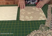 shab chic quilt memory quilt tutorial alanda craft Shabby Chic Quilt Pattern Inspirations