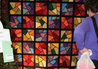 shattered stained glass quilt quilts stained glass Cool Stained Glass Quilt Pattern Inspirations