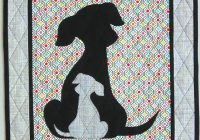 sidekick 20 puppy dog quilt pattern Interesting Dog Applique Quilt Patterns Gallery