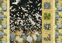 sidelights quilt pattern for panels large scale fabric diy quilting mountianpeek creations Cozy Panel Quilt Patterns