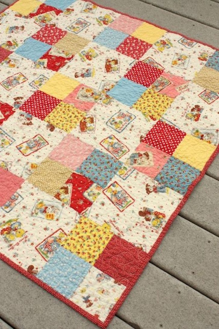 Permalink to Easy Four Patch Quilt Pattern