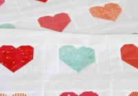 simple heart quilt tutorial cluck cluck sew quilting Heart Quilt Block Patterns Gallery