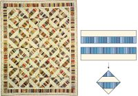 simple strip quilting designs 4 techniques stitch this Cool Strip Piecing Quilt Patterns