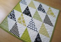 simple triangle block sew along sew mama sew Cozy Triangle Pattern Quilt Inspirations