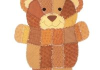 simplicity pattern 4993 Cozy Teddy Bear Rag Quilt Pattern Gallery