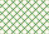 single irish chain quilt pattern 10   Double Irish Chain Quilt Pattern Queen