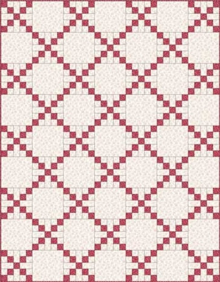 Permalink to Cool Single Irish Chain Quilt Pattern Gallery