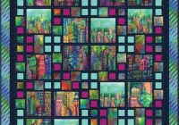 skylines sensation free quilt pattern fab fabrics quilts Interesting Stained Glass Quilt Patterns Inspirations