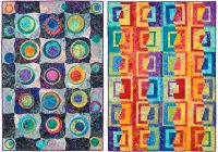 slice shuffle slide with a stack the deck quilt pattern Cozy Stack The Deck Quilt Pattern
