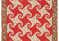 snails trail quilt epattern Cool Snail Trail Quilt Pattern Inspirations