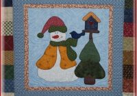 snowman collector bom roscoe kit blk 03 Snowman Collector Quilt Pattern Gallery