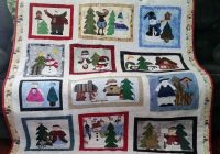 snowman collector quilt this one has snowman trim all Snowman Collector Quilt Pattern Gallery