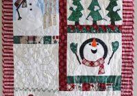 snowman wall hanging pattern christmas wall hanging pattern farmhouse christmas decor quilt wall pattern quilt pattern Cool Quilted Wall Hanging Patterns Inspirations