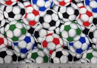 soccer balls quilting cotton from david textiles 44 wide the half yard Cool Soccer Ball Quilt Pattern Inspirations