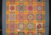 some interesting circle quilts occasionalpiece quilt Cozy Georgetown Circle Quilt Block Designer Inspirations
