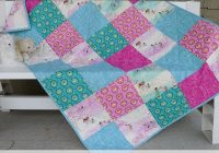 sometimes you need a quilt on really short notice so you Cool Simple Quilt Patterns For Beginners Gallery