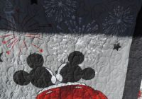 sooo big 52×46 balap mickey and minnie mouse handmade quilt Elegant Minnie Mouse Baby Quilt