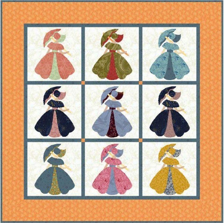 Permalink to Elegant Umbrella Girl Quilt Pattern