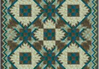southwest mountains designer pattern robert kaufman fabric Cozy Southwest Serenity Quilt Pattern Gallery