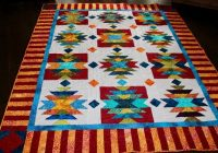 southwest quilt pattern native american american indian size 76 x 96 pdf quilt pattern Cool American Indian Quilt Patterns Gallery