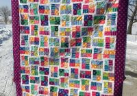 sparkling gemstone quilt made with tula pink freespirit fabric 10 Cool Sparkling Genstones Quilt Pattern