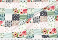 spoonflower cheater quilt fabric floral dreams whole 9 Beautiful Cheater Quilt Fabric Inspirations